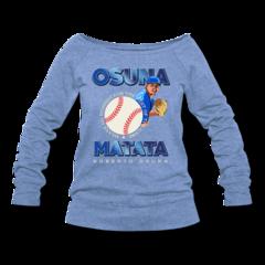 Women's Wideneck Sweatshirt by Roberto Osuna