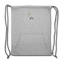 Sweatshirt Cinch Bag by Samira Rached