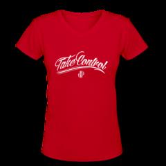 Women's V-Neck T-Shirt by Jordan Poyer