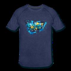Men's Tri-Blend Performance T-Shirt by Micah Johnson