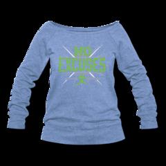 Women's Wideneck Sweatshirt by Derrick Coleman