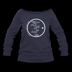 Women's Wideneck Sweatshirt by Egan Inoue