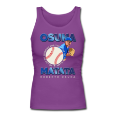 Women's Longer Length Fitted Tank by Roberto Osuna