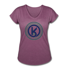 Women's V-Neck Tri-Blend T-Shirt by Kyle Okposo