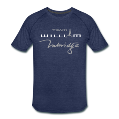 Men's Tri-Blend Performance T-Shirt by William Trubridge