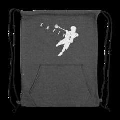 Sweatshirt Cinch Bag by Rob Pannell