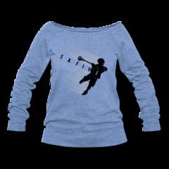 Women's Wideneck Sweatshirt by Rob Pannell